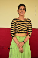 Actress Regina Candra Latest Pos in Green Long Skirt at Nakshatram Movie Teaser Launch  0103.JPG