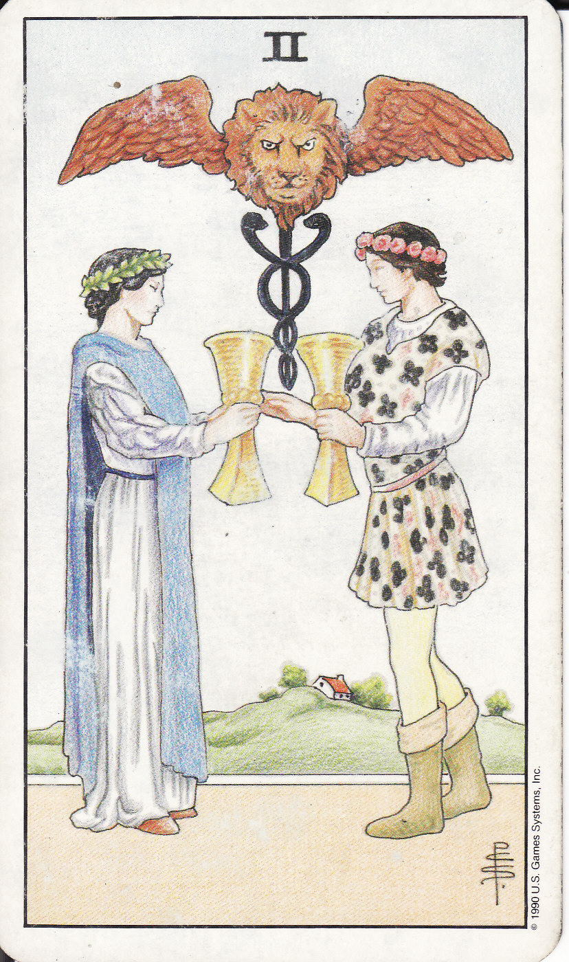 TAROT - The Royal Road: 2 TWO OF CUPS II