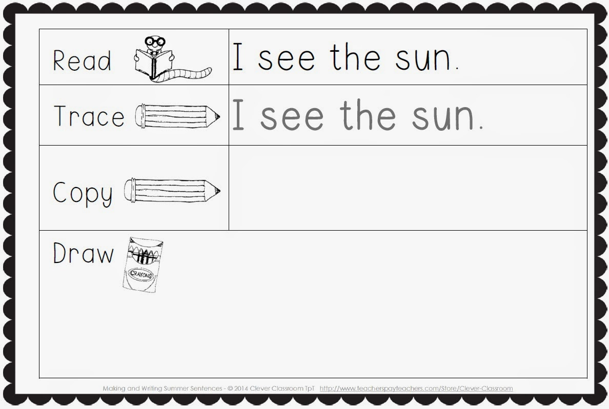 Writing Worksheet Kindergarten Scalien – Sentence Writing Worksheets for Kindergarten