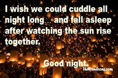 sms good night