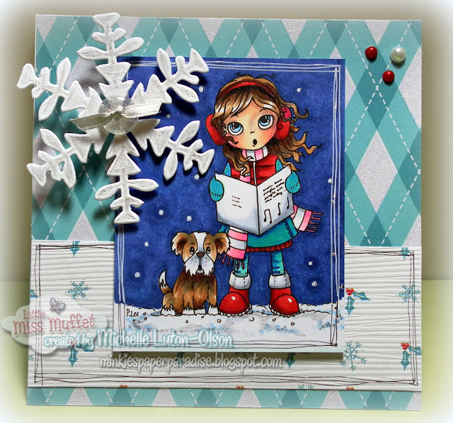 Minkie's Paper Paradise: Another Christmas Card...only 50