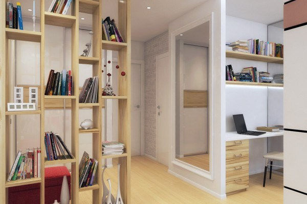 Trang trí căn hộ chung cư diện tích vừa và nhỏ: tạo các vách ngăn phân chia không gian