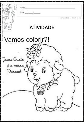 Páscoa - Para Colorir