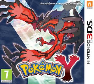 Pokemon Y 3DS, español, mega