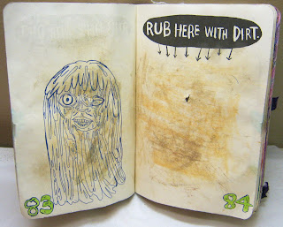 """""""Rub here with dirt"""""""