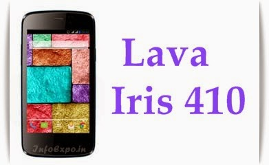 Specifications and price of Lava Iris 410