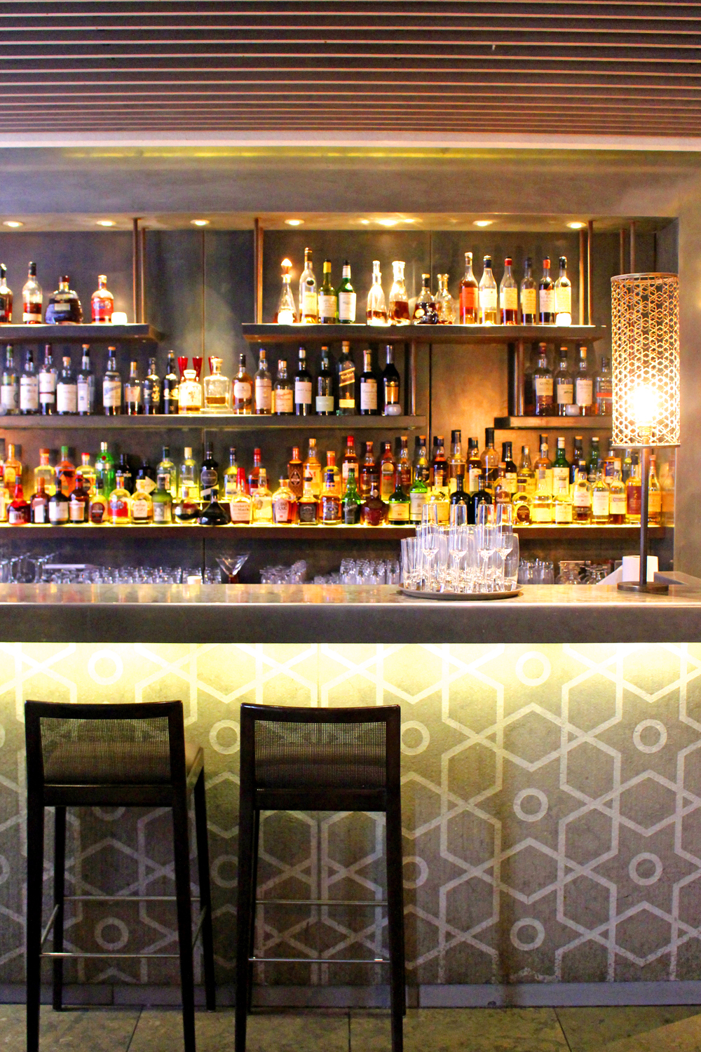 Bar at Quilon, Michelin-starred Indian restaurant in Victoria, London - UK lifestyle blog