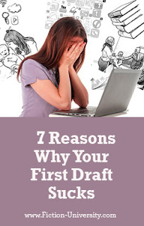 first drafts, fixing a novel