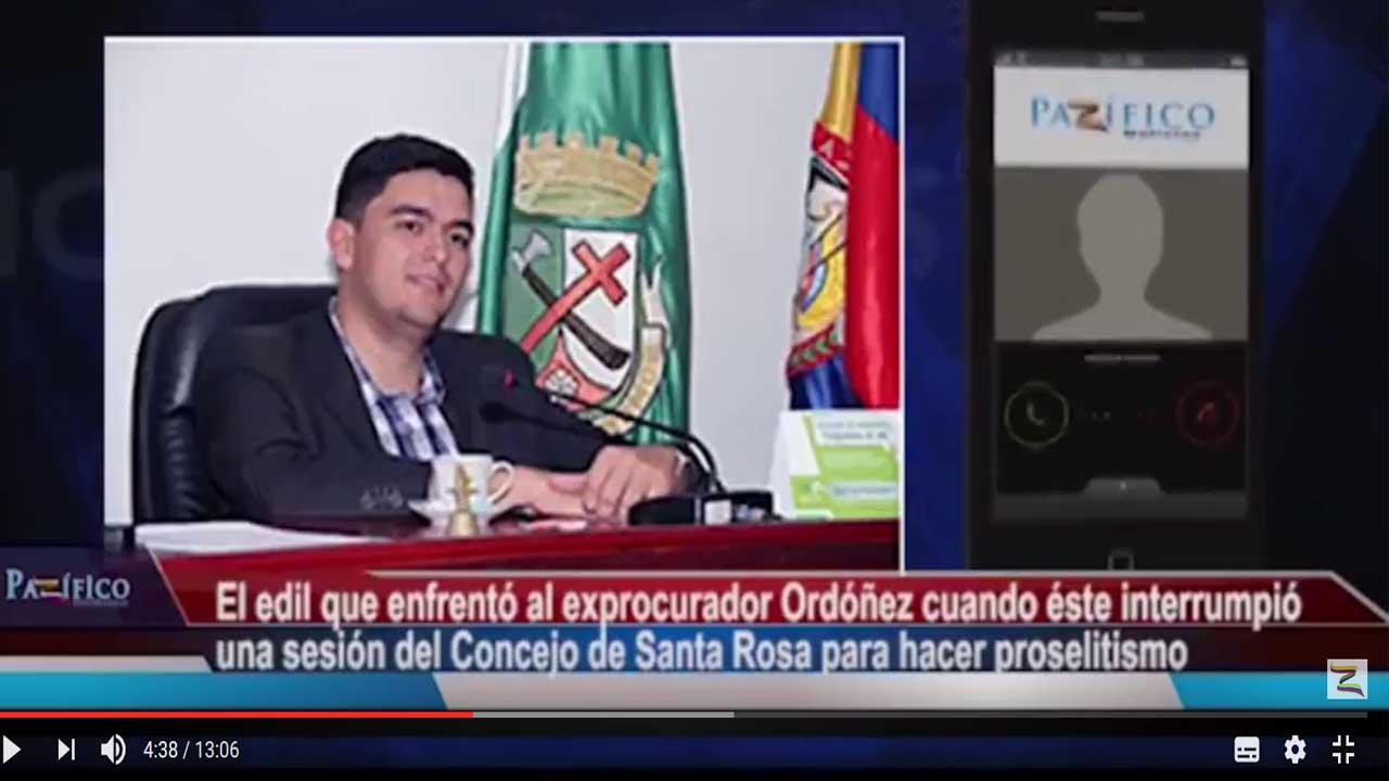 """""""Rechazamos la manera como Ordóñez llega a los concejos a hacer proselitismo político"""": Rodrigo Toro"""