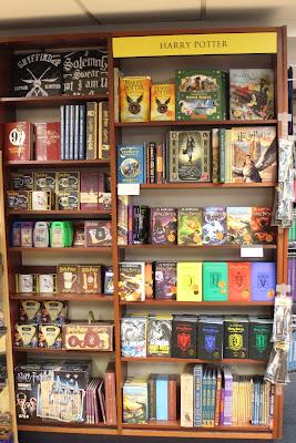 כבוד להארי פוטר בחנות בלקוול, אוקספורד