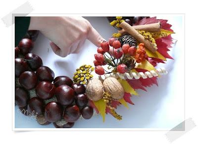 DIY, home decor, jesień, kwiaty, tutorial, wieniec, jesienne dekoracje, jesienne inspiracje,