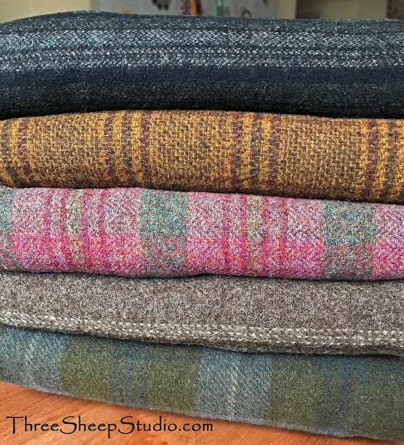 Gorgeous New Wool - ThreeSheepStudio.com