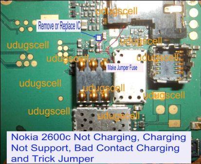 Nokia 2690 Not Chargin Problem Solution Mobifix - Imagez co