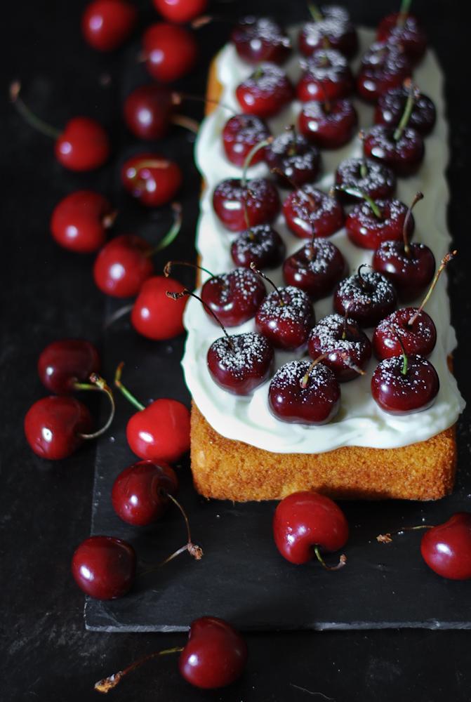 cherry-almond-cake-bizcocho-almendra-cereza-dulces-bocados