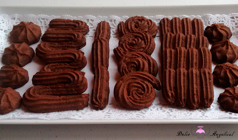 Galletas vianesas de chocolate