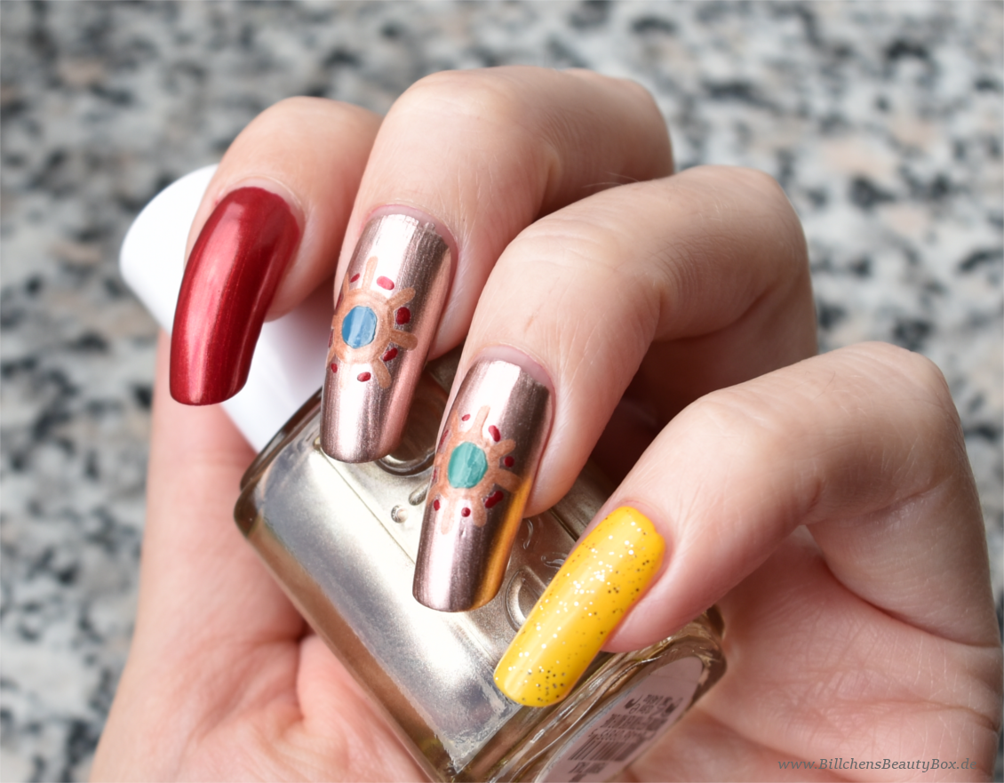 Sailor Moon - Sailor Galaxia - Nageldesign - Nailart