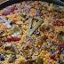 Receta de arroz con alcachofas y costillas