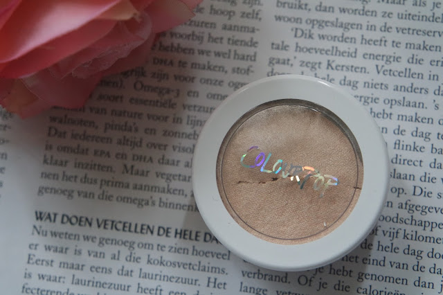 Colourpop lunch money highlighter review