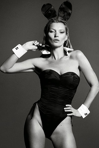 Kate Moss Playboy magazine