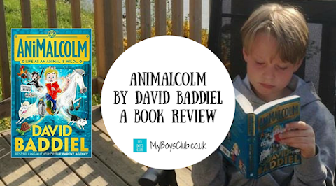 AniMalcolm by David Baddiel - A Book Review  (AD)