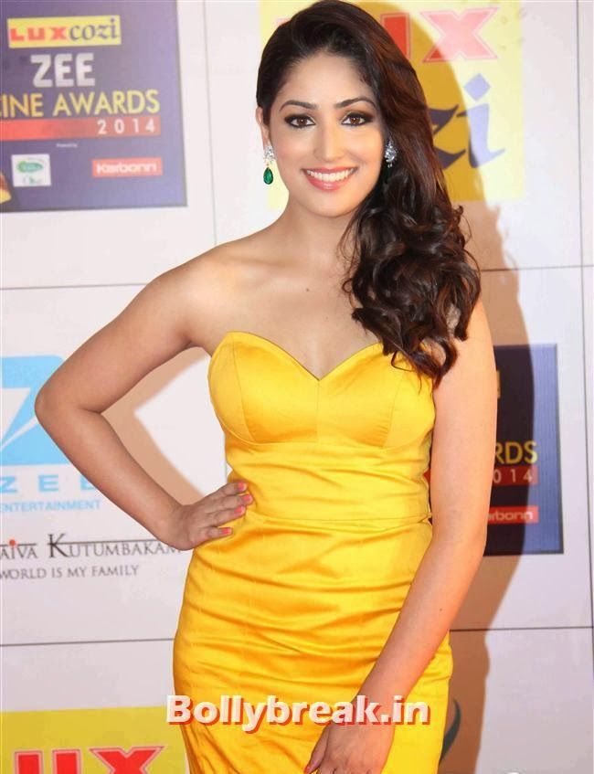 Yami Gautam, Zee Cine Awards 2014 Red Carpet Pics