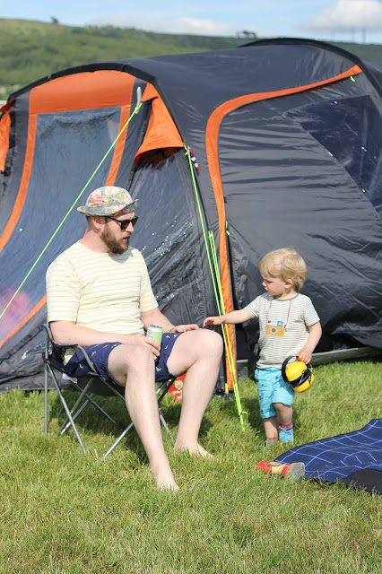 Festival family camping