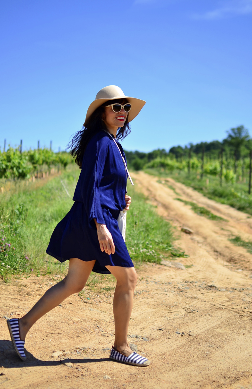 Outfit with espadrilles