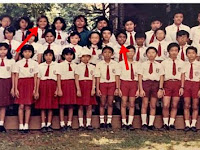 Gak Disangka, Dua Anak SD di Foto Jadul Ini Sekarang Jadi Seleb Terkenal, Siapa Ya?