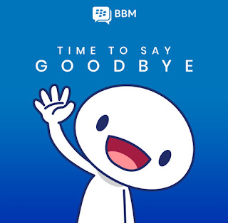 BBM shutting Down Service
