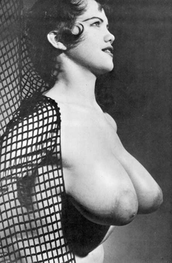 Opinion you vintage big tits nude the