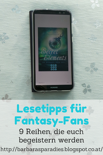 Lesetipps für Fantasy-Fans: 9 Reihen, die euch begeistern werden -  Secret Elements-Reihe von Johanna Danninger