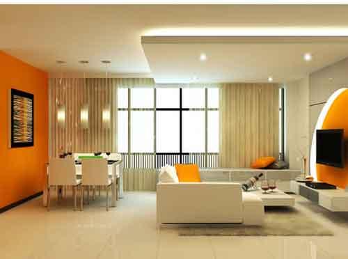 living room wall colors 2017 - grasscloth wallpaper