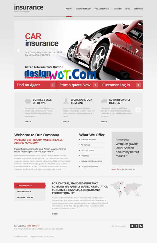 Car Premium Responsive WordPress Themes