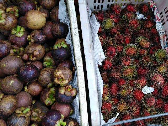 Mangostano e Rambutan