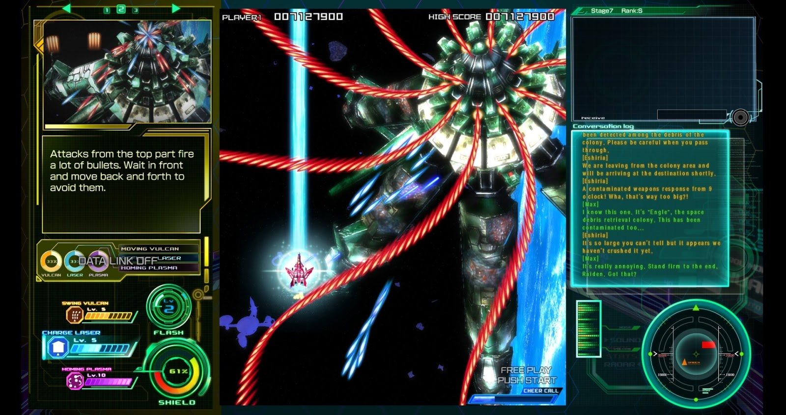 it looks easier than these bullet hell shmups in which bullets cover completely the screen right wrong because these bullets are fast like real fast