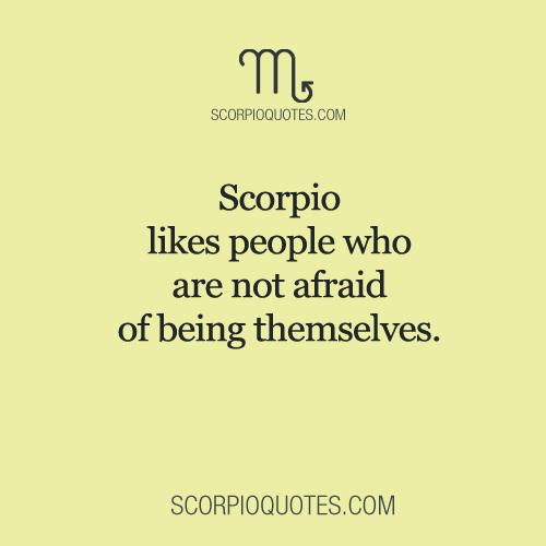 Scorpio likes