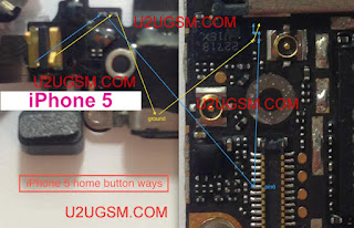 This is I Phone 5 Home button is Not Working Problem Solution    i phone home button is not working clean this button plate if not working chack this line. if get any line is short. make this jumper use copper coil.