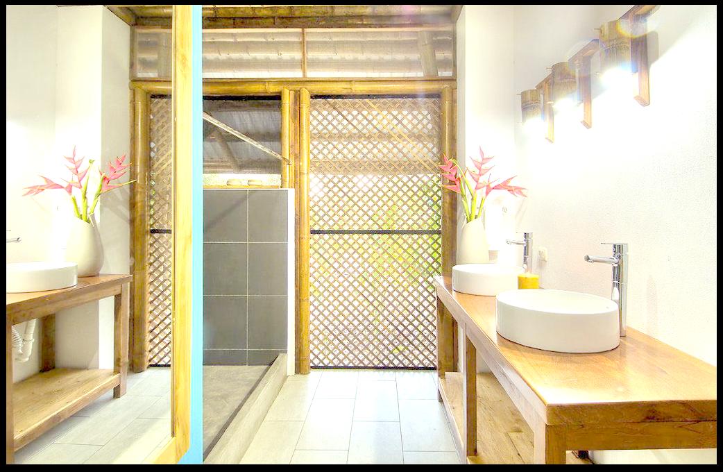 łazienka bambus