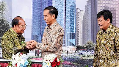 Bpk. Sukamdani dan Presiden Jokowi, Peresmian Sahid Center Sudirman