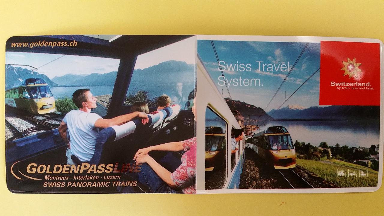 Swiss Pass Tampak Depan