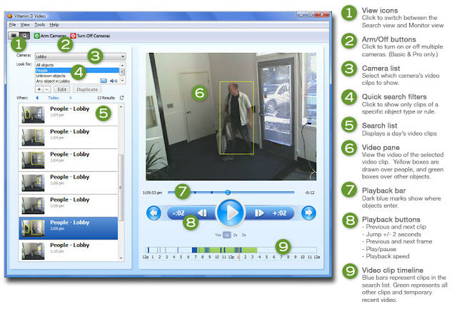 Webcam software,webcam surveillance