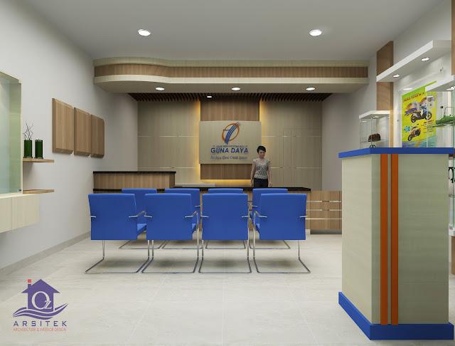Desain Interior BPR Guna Daya Pasar Legi