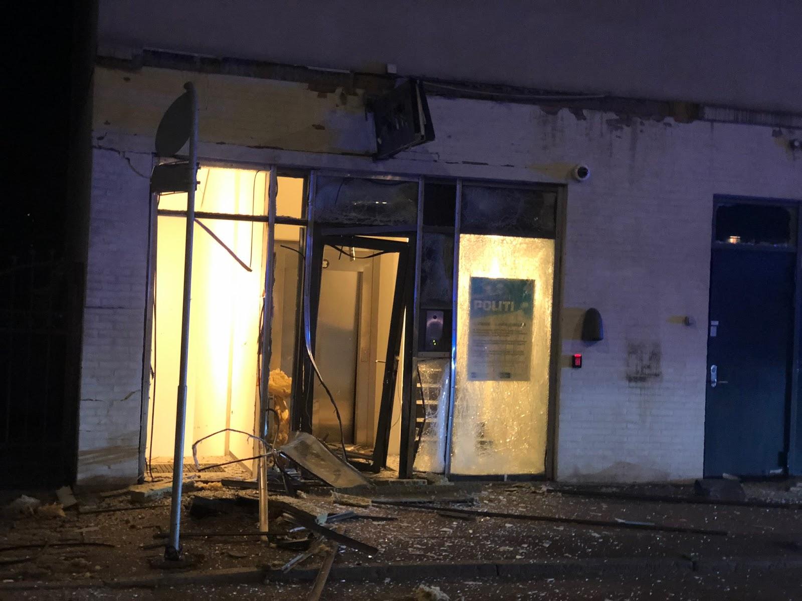 Sprādziens pie policijas iecirkņa Kopenhāgenā