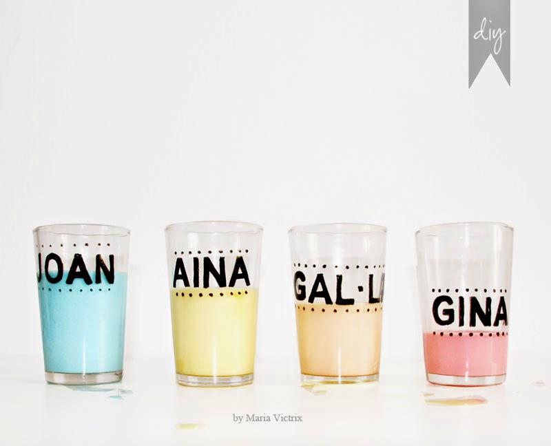 Cómo personalizar tus vasos