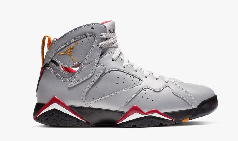 2c9f374e12 Air Jordan 7 Reflection of a Champion Cardinal 3M Retro Sneaker Detailed  Look With Reflective Test (Detailed Look + Release Date)