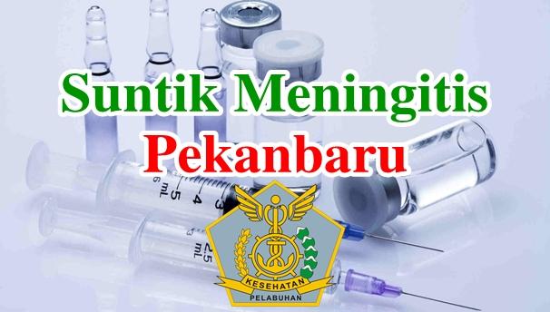Alamat Tempat Suntik Vaksin Meningitis di Pekanbaru