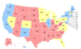 Interactive Map: Poll Shows Hillary Clinton, Donald Trump Split Battleground States