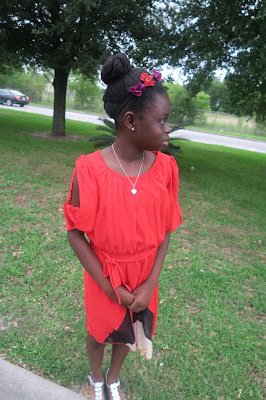 Big Sis's AWARD FAUX FLAT TWIST UPDO (Natural Hair Hairstyle for kids)