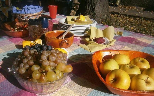 őszi gyümölcsok