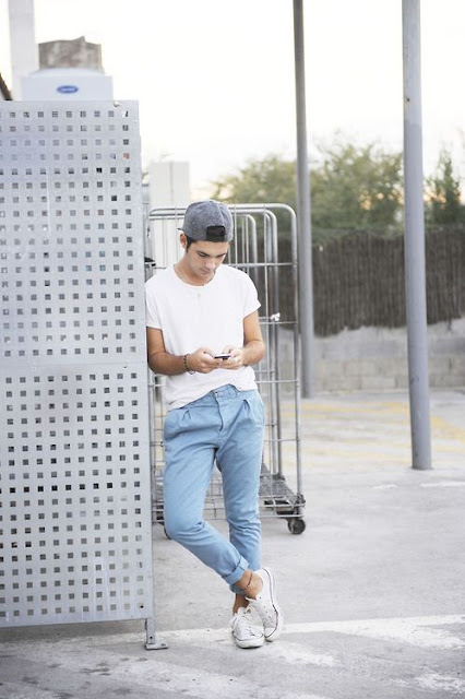 Look Masculino com Camiseta Branca Lisa
